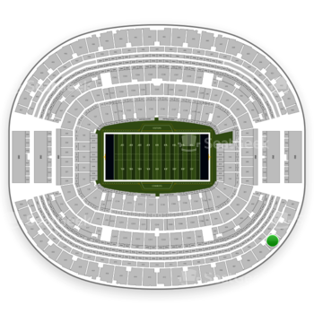 Dallas Cowboys at AT&T Stadium Section 404 View