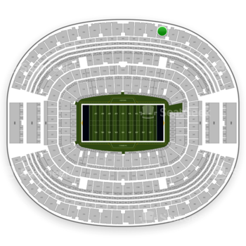 Dallas Cowboys at AT&T Stadium Section 446 View