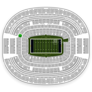 NFL at AT&T Stadium Section 226 View