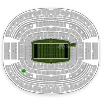 NFL at AT&T Stadium Section 318 View