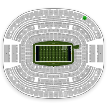 NFL at AT&T Stadium Section 449 View