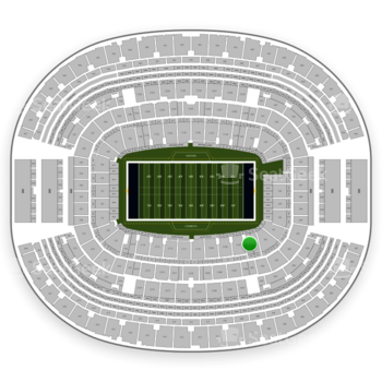 Dallas Cowboys at AT&T Stadium Section C 106 View