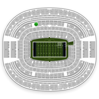 Dallas Cowboys at AT&T Stadium Section C 332 View