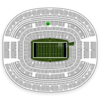Dallas Cowboys at AT&T Stadium Section C 335 View
