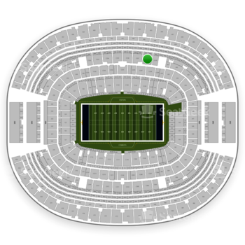 Dallas Cowboys at AT&T Stadium Section C 338 View