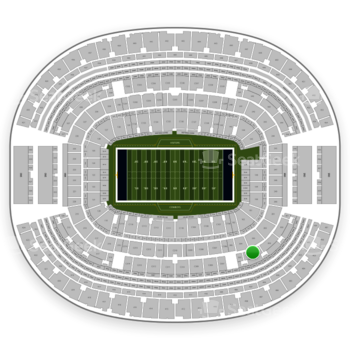 Dallas Cowboys at AT&T Stadium Section 304 View
