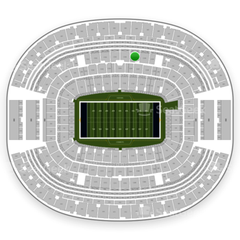 Dallas Cowboys at AT&T Stadium Section C 337 View