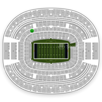 Dallas Cowboys at AT&T Stadium Section 229 View