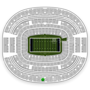 Dallas Cowboys at AT&T Stadium Section 413 View