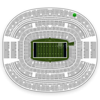 Dallas Cowboys at AT&T Stadium Section 448 View