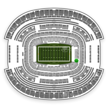 Dallas Cowboys at AT&T Stadium Section 150 View