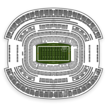 Dallas Cowboys at AT&T Stadium Section 210 View