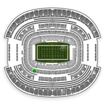 Dallas Cowboys at AT&T Stadium Section 216 View
