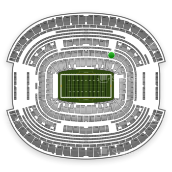 Dallas Cowboys at AT&T Stadium Section 240 View