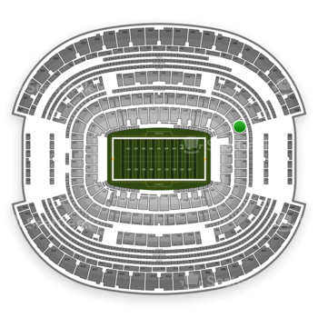 Dallas Cowboys at AT&T Stadium Section 244 View