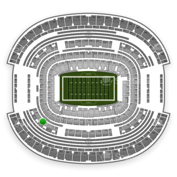 Dallas Cowboys at AT&T Stadium Section 318 View
