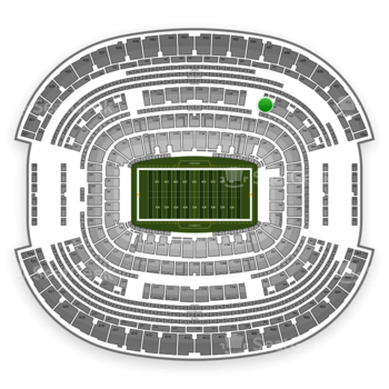 Dallas Cowboys at AT&T Stadium Section 341 View