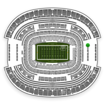Dallas Cowboys at AT&T Stadium Section 345 View