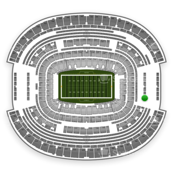 Dallas Cowboys at AT&T Stadium Section 350 View