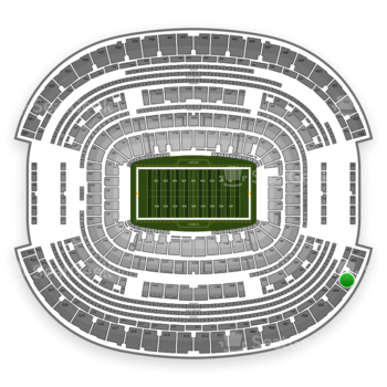 Dallas Cowboys at AT&T Stadium Section 403 View