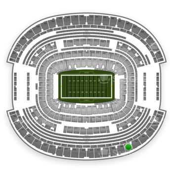 Dallas Cowboys at AT&T Stadium Section 407 View