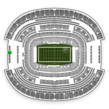 Dallas Cowboys at AT&T Stadium Section 428 View