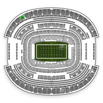 Dallas Cowboys at AT&T Stadium Section 436 View