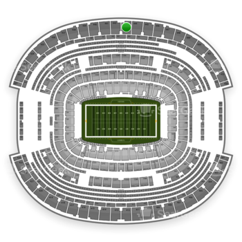 Dallas Cowboys at AT&T Stadium Section 443 View