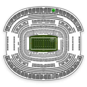 Dallas Cowboys at AT&T Stadium Section 445 View