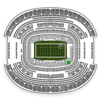 NFL at AT&T Stadium Section 102 View