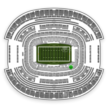 NFL at AT&T Stadium Section 103 View