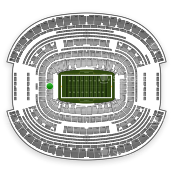 NFL at AT&T Stadium Section 123 View