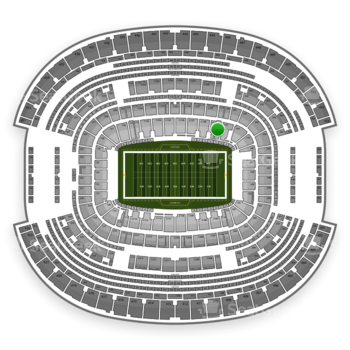 NFL at AT&T Stadium Section 142 View