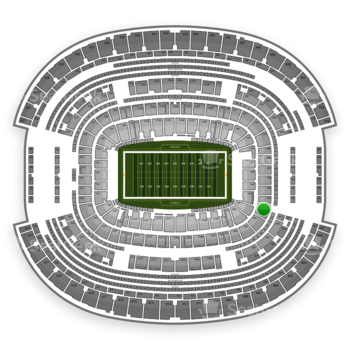NFL at AT&T Stadium Section 201 View