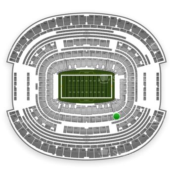 NFL at AT&T Stadium Section 204 View