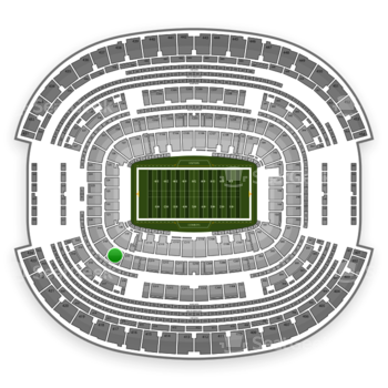 NFL at AT&T Stadium Section 217 View