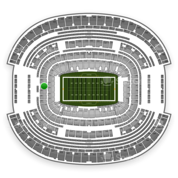 NFL at AT&T Stadium Section 223 View