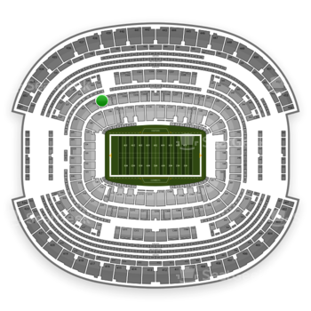 NFL at AT&T Stadium Section 229 View