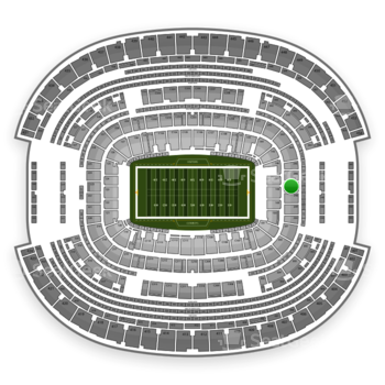 NFL at AT&T Stadium Section 247 View