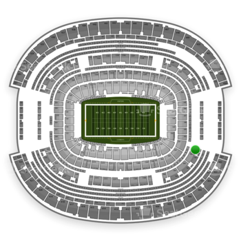 NFL at AT&T Stadium Section 301 View