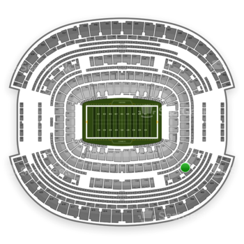 NFL at AT&T Stadium Section 303 View