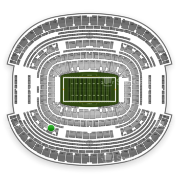 NFL at AT&T Stadium Section 317 View
