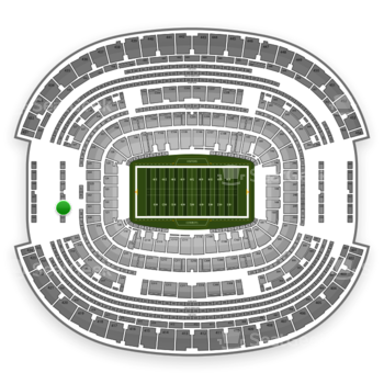 NFL at AT&T Stadium Section 322 View