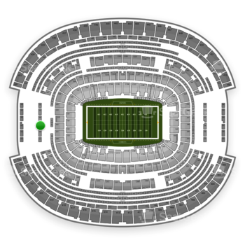 NFL at AT&T Stadium Section 323 View