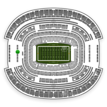 NFL at AT&T Stadium Section 324 View