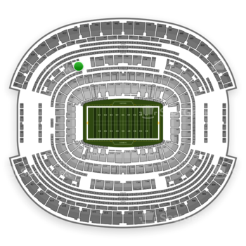 NFL at AT&T Stadium Section 330 View