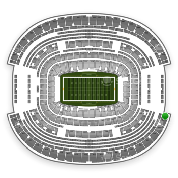 NFL at AT&T Stadium Section 401 View