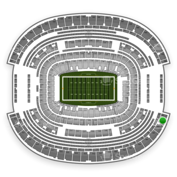 NFL at AT&T Stadium Section 402 View