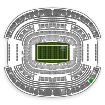 NFL at AT&T Stadium Section 404 View