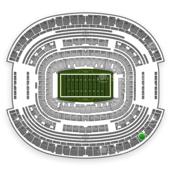 NFL at AT&T Stadium Section 405 View